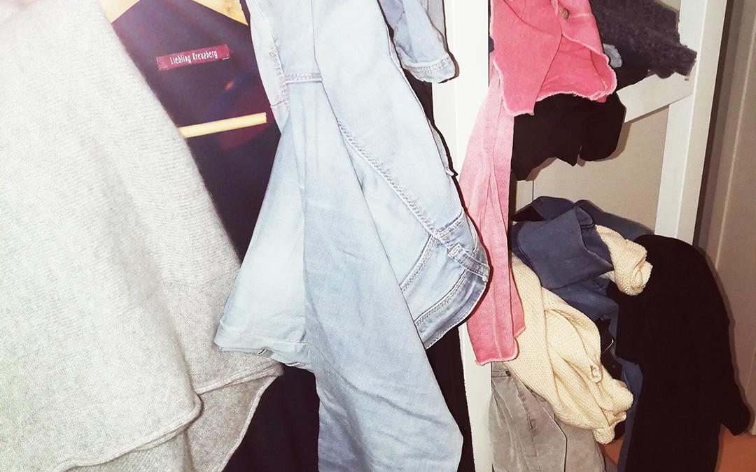 Was Chaos im Kleiderschrank und Lernstress gemeinsam haben?