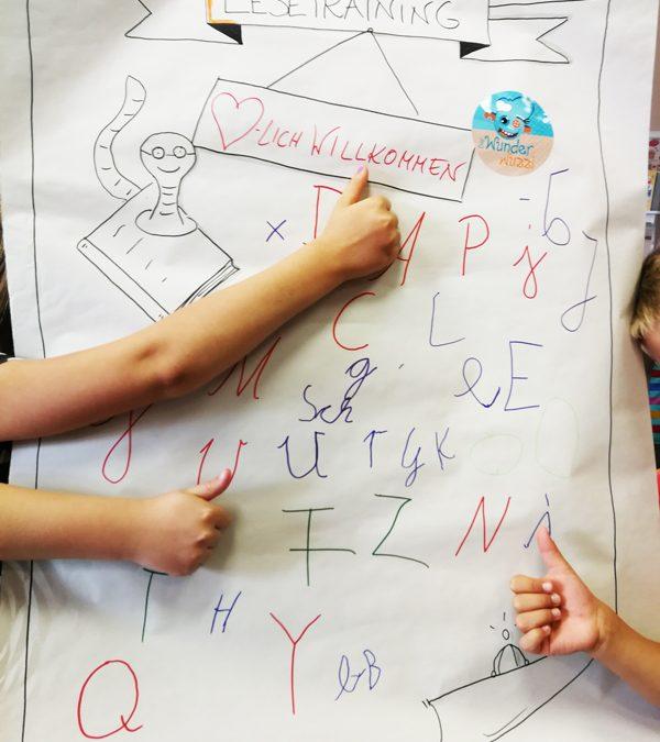 Lesetraining Vorschüler im Wunderwuzzi